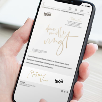 Signature d'email - XDS1446